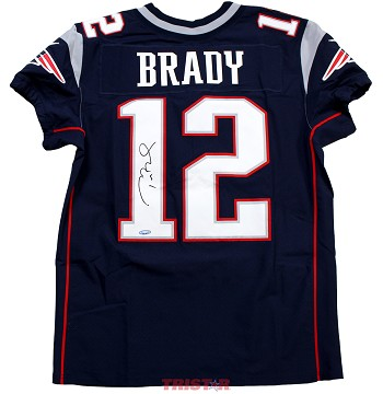 Tom Brady Autographed New England Patriots Authentic Nike Jersey