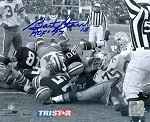 Bart Starr Autographed Green Bay Packers Ice Bowl 8x10 Photo HOF 77