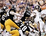 Steel Curtain Autographed Pittsburgh Steelers 16x20 Photo PSA/DNA