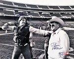 Dan Pastorini & Bum Phillips Autographed Houston Oilers 16x20 Photo