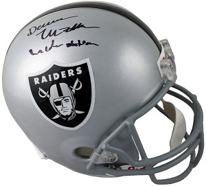 Darren McFadden Autographed Oakland Raiders Helmet Inscribed Raider Nation
