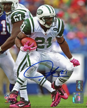 LaDainian Tomlinson Autographed New York Jets vs Bills 8x10 Photo