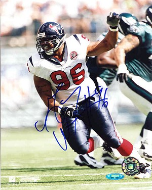 Gary Walker Autographed Houston Texans 8x10 Photo