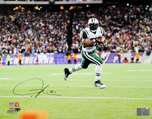 LaDainian Tomlinson Autographed New York Jets 16x20 Photo