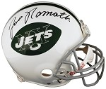 Joe Namath Autographed New York Jets Authentic Full Size Helmet
