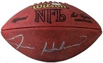 Ernie Holmes Autographed Official NFL Football
