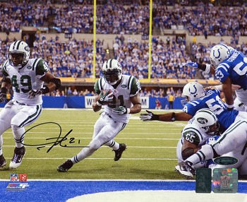 LaDainian Tomlinson Autographed New York Jets vs. Colts 8x10 Photo