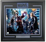 Stan Lee Autographed Avengers 16x20 Photo Framed