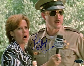 Linda Blair Autographed Inscribed Scream 8x10 Photo