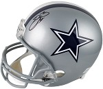 Emmitt Smith Autographed Dallas Cowboys Full Size Helmet
