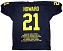 Desmond Howard Autographed Michigan Stat Embroidered Jersey