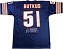 Dick Butkus Autographed Inscribed Collector's Edition Jersey