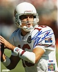 Jake Plummer Autographed Arizona Cardinals Close-Up 8x10 Photo