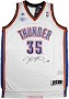 Kevin Durant Autographed Oklahoma City Thunder Jersey
