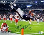 Rob Gronkowski Autographed New England Patriots 16x20 Photo