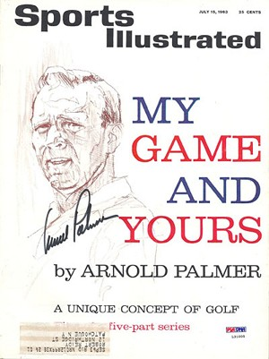 Arnold Palmer Autographed 1963 Sports Illustrated Magazine