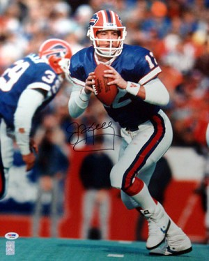 Jim Kelly Autographed Buffalo Bills 16x20 Photo