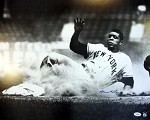 Willie Mays Autographed New York Giants 16x20 Photo
