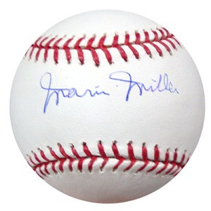 Marvin Miller Autographed Major League Baseball