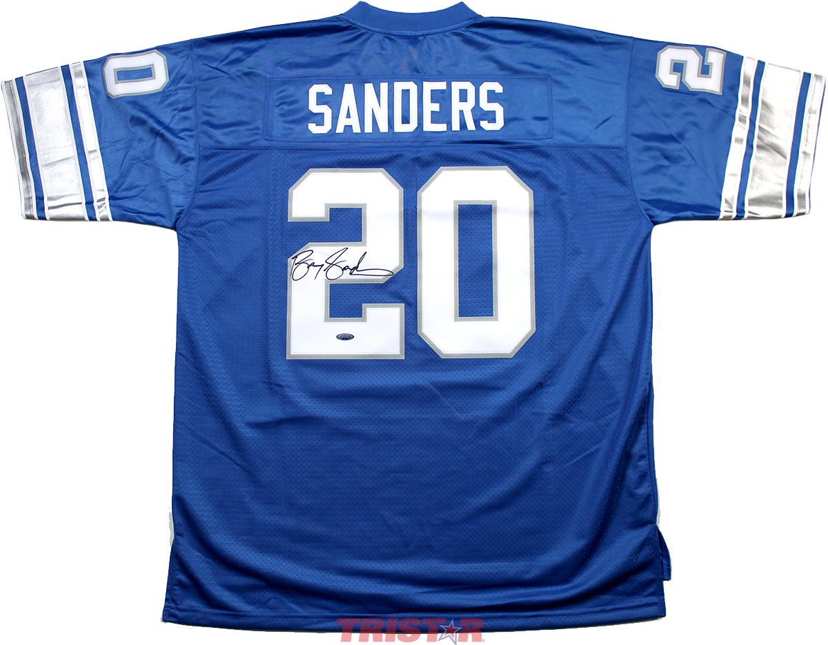 pretty nice 6262d 48471 Barry Sanders Autographed Detroit Lions Proline Vintage Jersey
