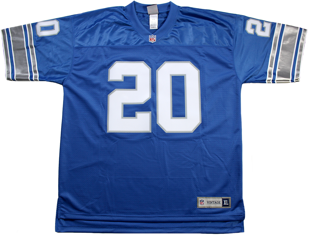Barry Sanders Autographed Detroit Lions Jersey  hot sale