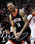 Gerald Green Autographed Houston Rockets 8x10 Photo