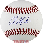 Corbin Martin Autographed Major League Baseball