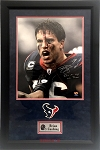 Brian Cushing Autographed Houston Texans 16x20 Photo Inscribed Don't You Mess With Texas