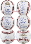 Houston Astros Team Autographed 2017 World Series Baseball - Verlander, Springer & 21 More