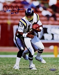 Charlie Joiner Autographed San Diego Chargers 8x10 Photo Inscribed HOF 96