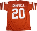Earl Campbell Autographed Texas Longhorns Custom Jersey