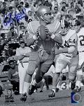 Gary Beban Autographed UCLA 8x10 Photo Inscribed Heisman 67