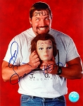 Al Snow Autographed WWF 8x10 Photo