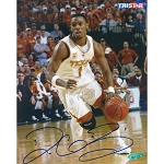 Daniel Gibson Autographed University of Texas Longhorns 8x10 Photo