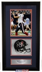 Matt Schaub Autographed Houston Texans 8x10 Shadowbox