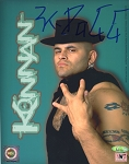 Konnan Autographed WCW NWO Wrestling 8x10 Photo