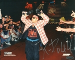 Konnan Autographed NWO Wrestling 8x10 Photo