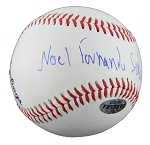 Fernando Salas Autographed Minor League Baseball Full Name Signature