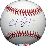 Chris Johnson Autographed Major League Baseball