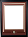 University of Texas Longhorns Double Matted Frame with Logo Coin