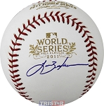 Lance Berkman Autographed 2011 World Series Baseball