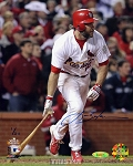 Lance Berkman Autographed St. Louis Cardinals 8x10 Photo