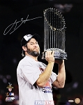 Lance Berkman Autographed 2011 World Series Champs 16x20 Photo