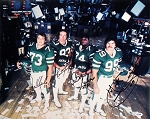 New York Jets Sack Exchange Autographed 16x20 Photo