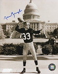 Sammy Baugh Autographed Redskins Capital Building 8x10 Photo