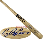 Craig Biggio Autographed Rawlings Name Model Bat Inscribed HOF 2015