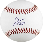 George Springer Autographed Major League Baseball