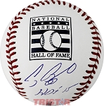 Craig Biggio Autographed Hall of Fame Logo Baseball Inscribed HOF 2015