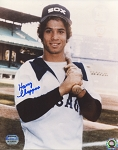 Harry Chappas Autographed Chicago White Sox Portrait 8x10 Photo
