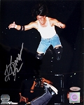 Billy Kidman Autographed Wrestling Mid-Air 8x10 Photo